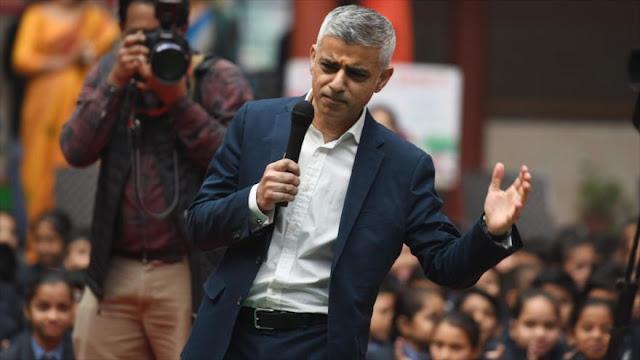 Británicos fanáticos de Trump piden arresto de alcalde de Londres
