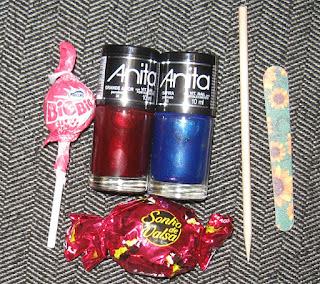 Anita nail polish mystery bag