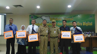 SMAN 110 Juara Harapan I Lomba Perpustakaan SMA DKI Jakarta