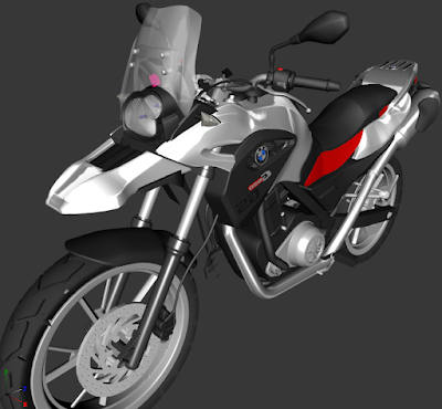 GTA SA - BMW 650GS (PC FORTE)