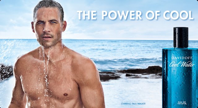 Campanha de Cool Water Davidoff , com Paul Walker