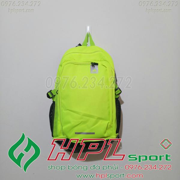 Balo bóng đá đẹp Adidas - 01 màu xanh chuối
