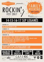 Horarios Rockin' Fest 2017