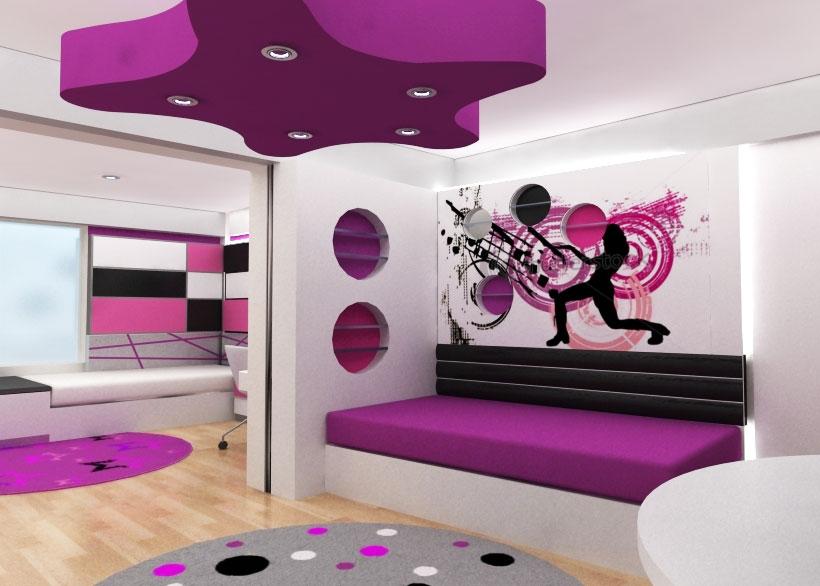 Itzel garcia lopez decoraciones en habitaciones de chicas - Como pinto mi habitacion ...