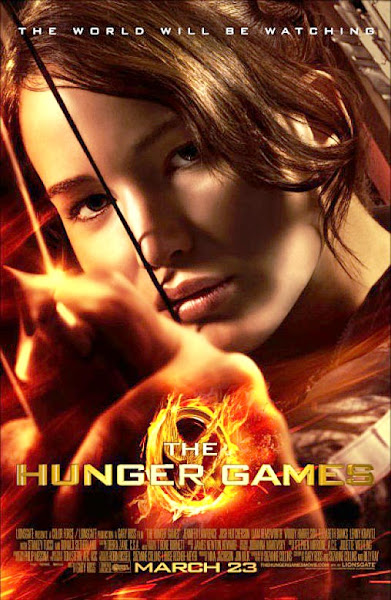 Poster Of The Hunger Games 2012 720p Hindi BRRip Dual Audio