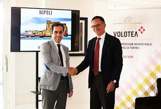 Volotea continua ad investire a Napoli