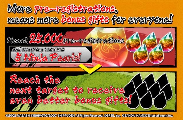 Aproveitando a ocasião, a Bandai Namco nos informa que está aberto a página oficial de registro antecipado, permitindo obtermos recompensas exclusivas dependendo do número de jogadores que se registrem antes que saia o jogo.