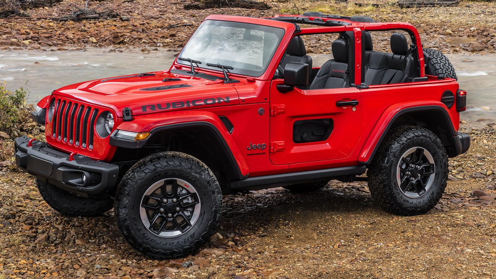 new jeep wragler s half doors won t be available until 2019. Black Bedroom Furniture Sets. Home Design Ideas