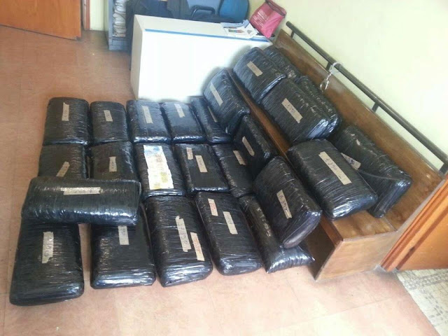 Γιάννενα: Μπλόκο σε φορτίο με 109 κιλά χασίς