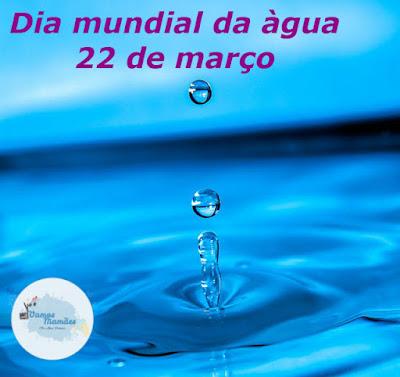Dia mundial da Água - Dicas de como economizar água