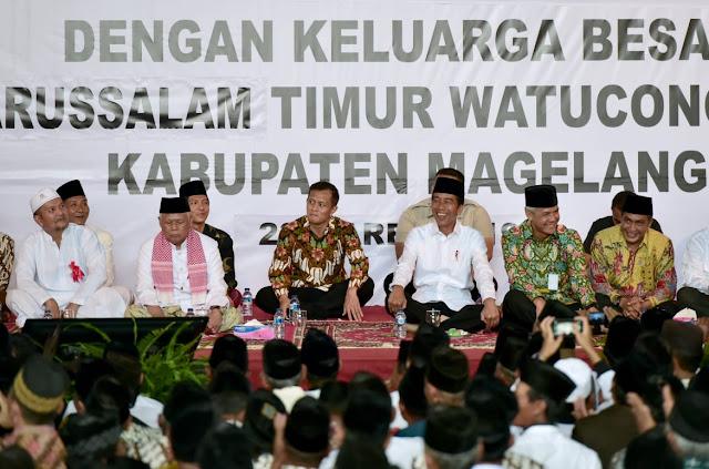 presiden silaturrahim ke magelang watucongol