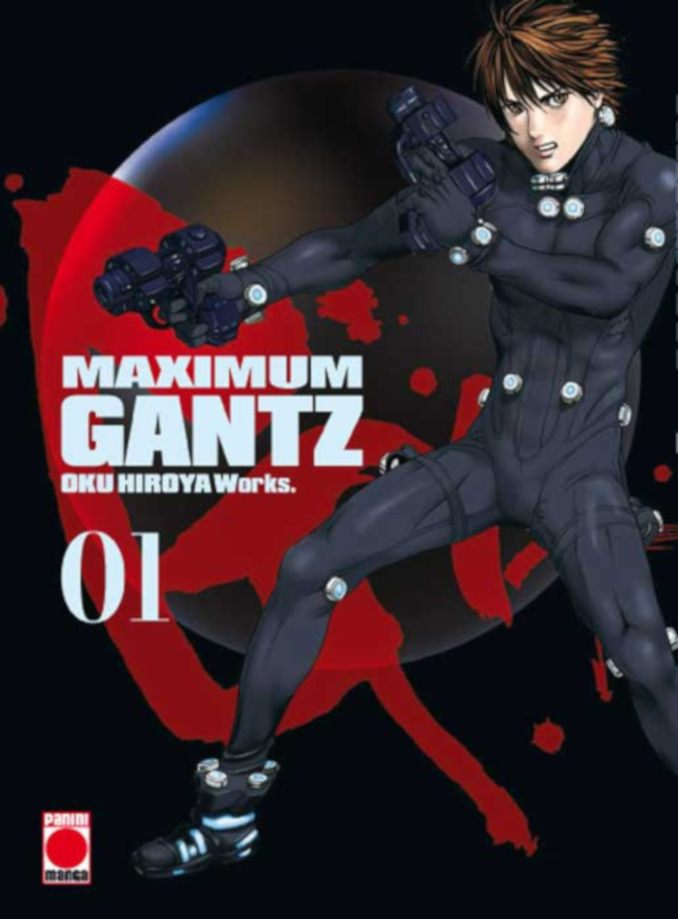Gantz Maximum manga Panini Cómics