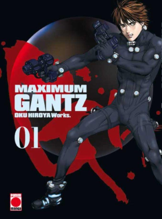Gantz Maximum manga Panini Cómics