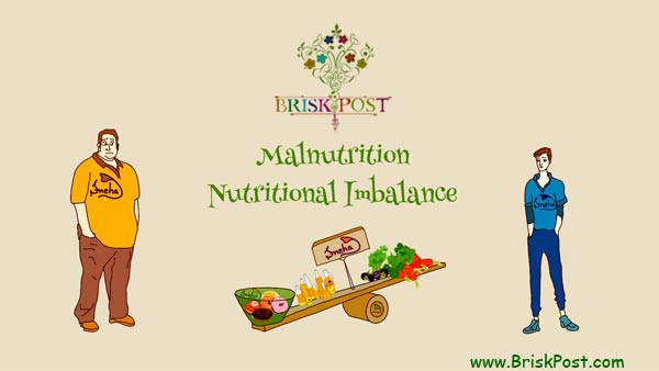 Malnutrition or Nutritional Imbalance illustration