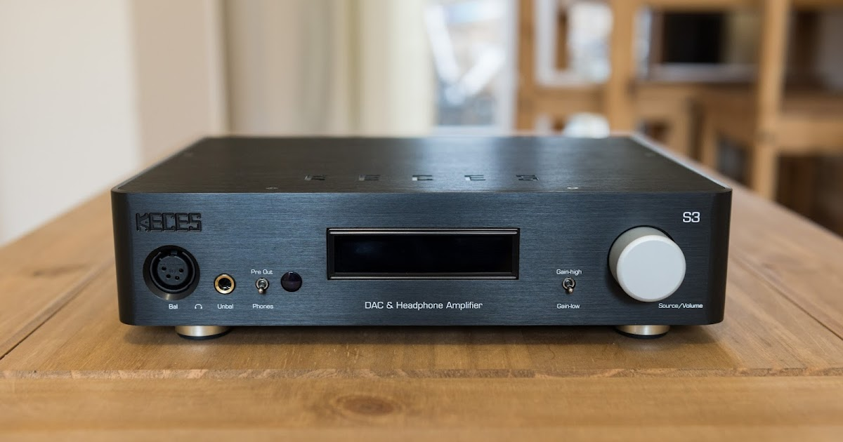 Review Keces Audio S3 Fully Balanced Headphone Amplifier