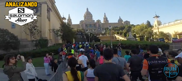 Analizando Salomon Run Barcelona 2018