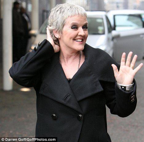 Feelgood Scarves: Bernie Nolan looking good after chemo hair