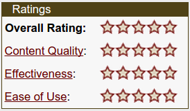 Merlot.org 5-star badge