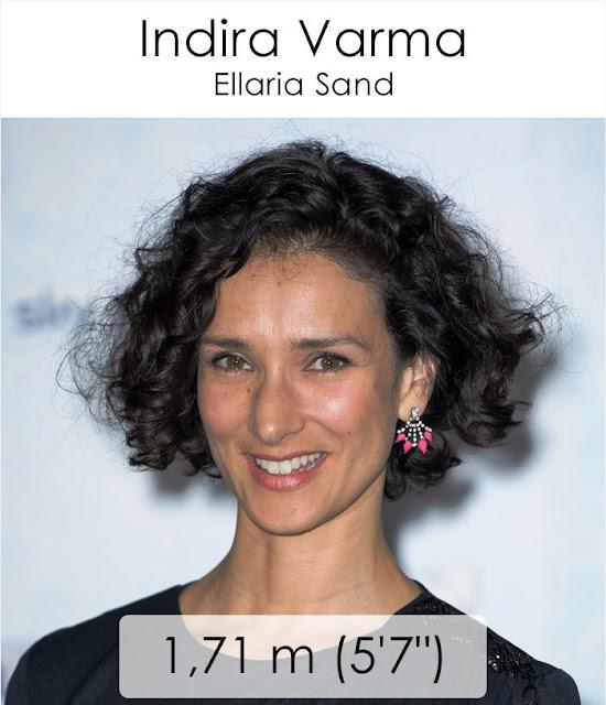 Indira Varma (Ellaria Sand) 1.71 m