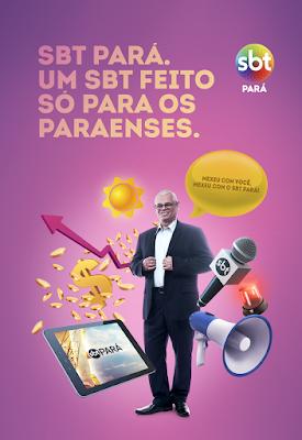 Nova campanha do SBT estrelada por Valdo Souza. Crédito: Divulgação.