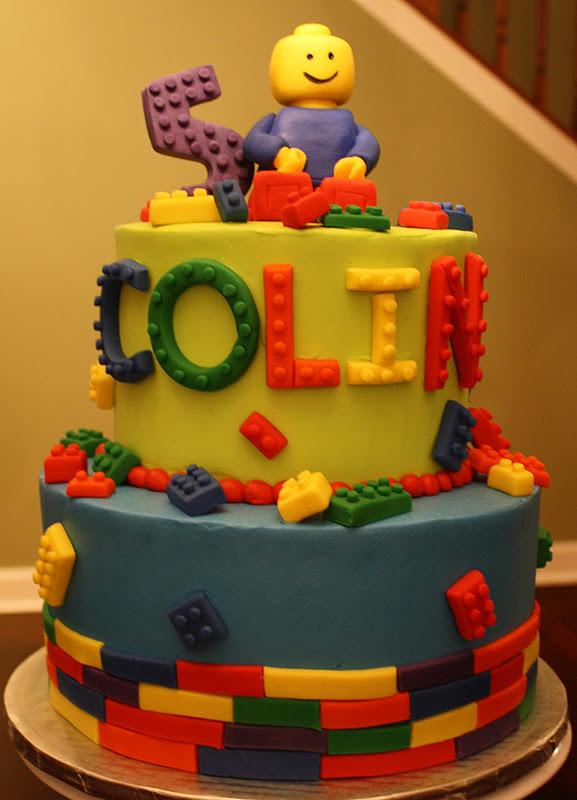 Claudine Lego Birthday Cake