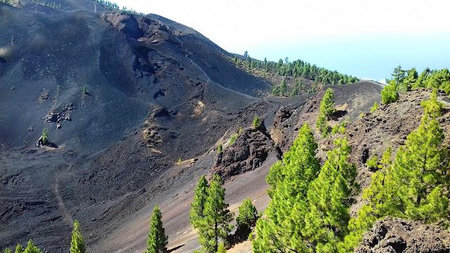 Trasa wulkaniczna na La Palmie