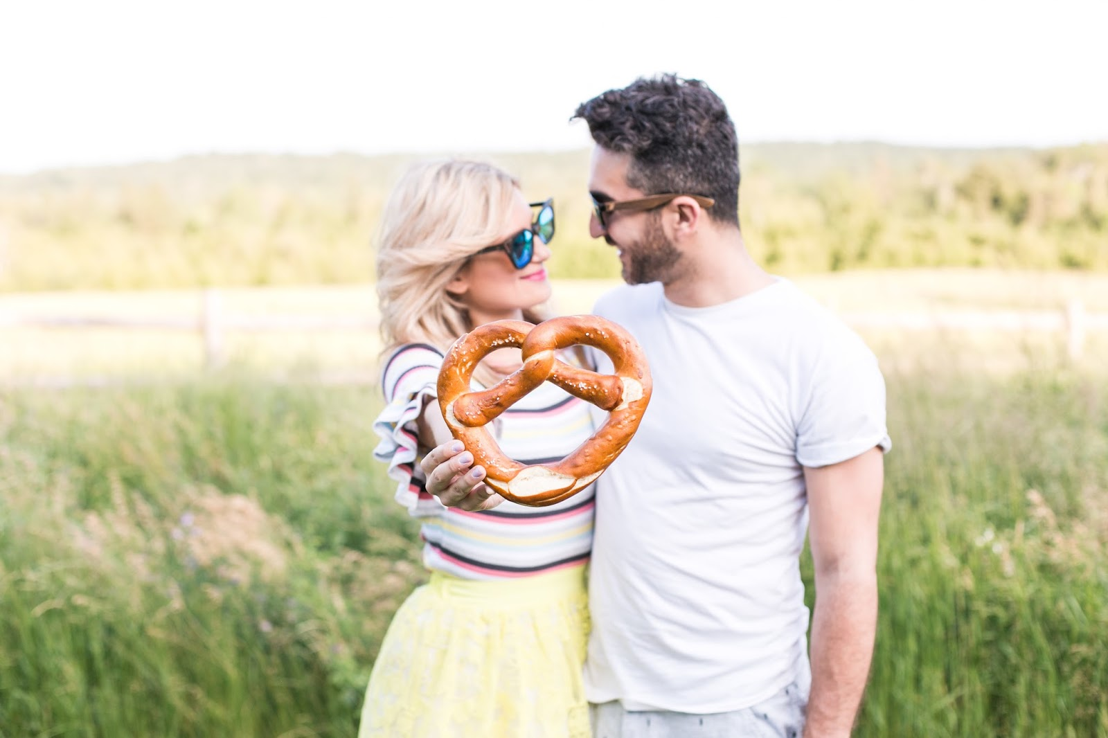 Bijuleni - Couple Photo with pretzel