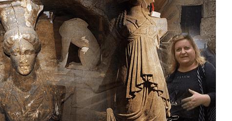 Κατερίνα Περιστέρη- Μνημείο Καστά