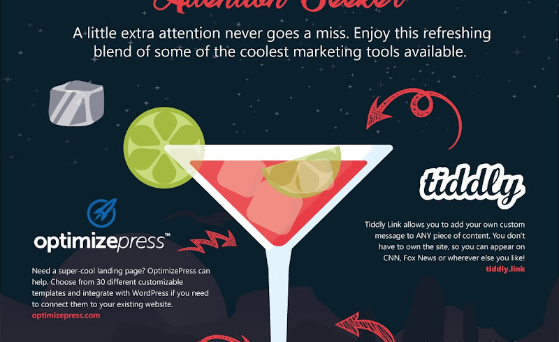 Sipping Your Way to Success with a Cocktail of Incredible Tools for Business (infographic)