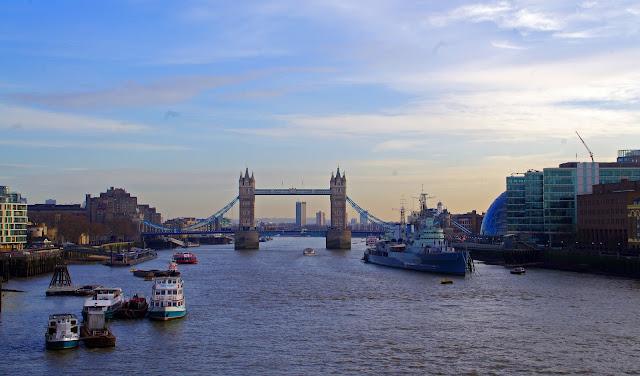 Tower Bridge and Thames River London