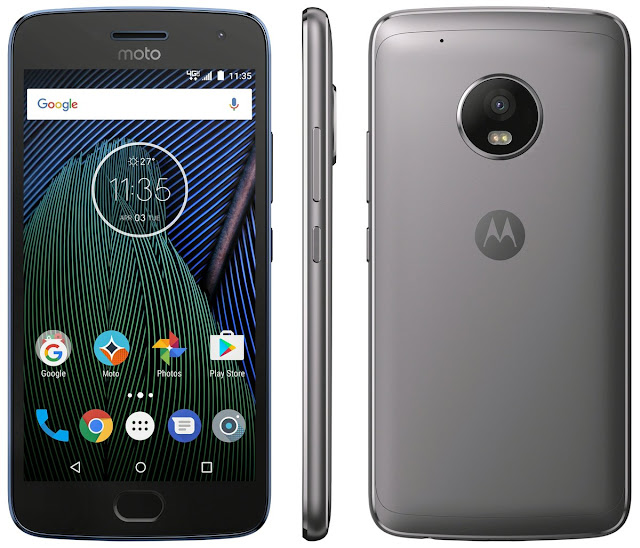 Verizon Moto G5 Plus renders leaked by Evan Blass