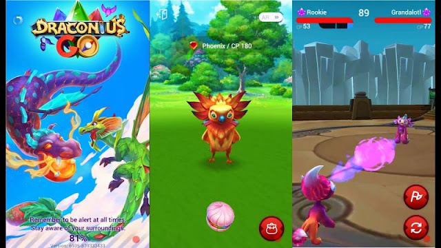 draconius go review mirip pokemon go