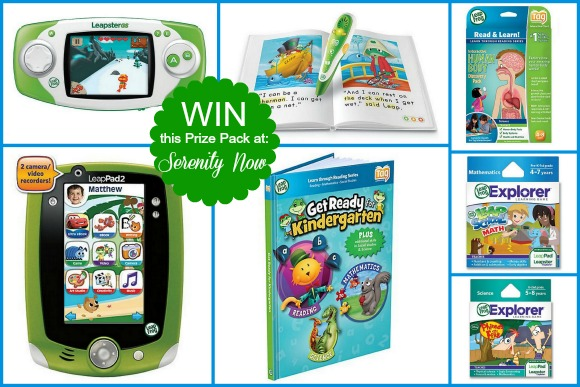 Leap Frog Giveaway at Serenity Now