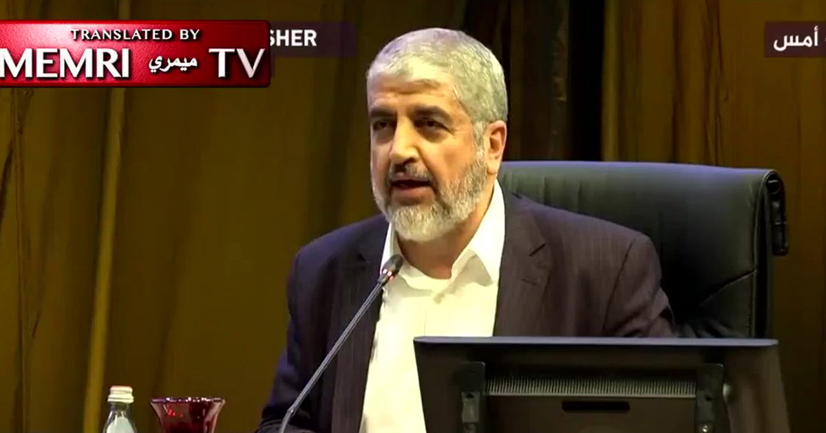 Hamas leader says women's role in society is to commit suicide bombings against Jews