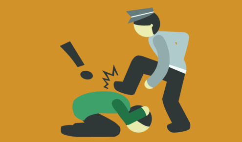 Inna Lillahi, Usai Pukul Kepala Pengendara Wanita, Polisi Ini Malah Pamer Pangkat