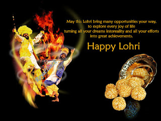 Happy Lohri Wallpapers 3D