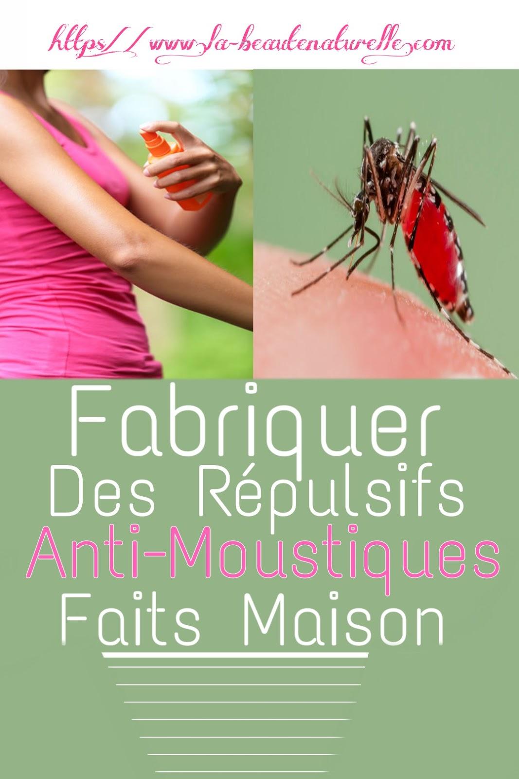 Fabriquer Des Répulsifs Anti-Moustiques Faits Maison