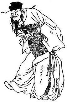 potret Cao Cao sebagai penjahat dalam novel