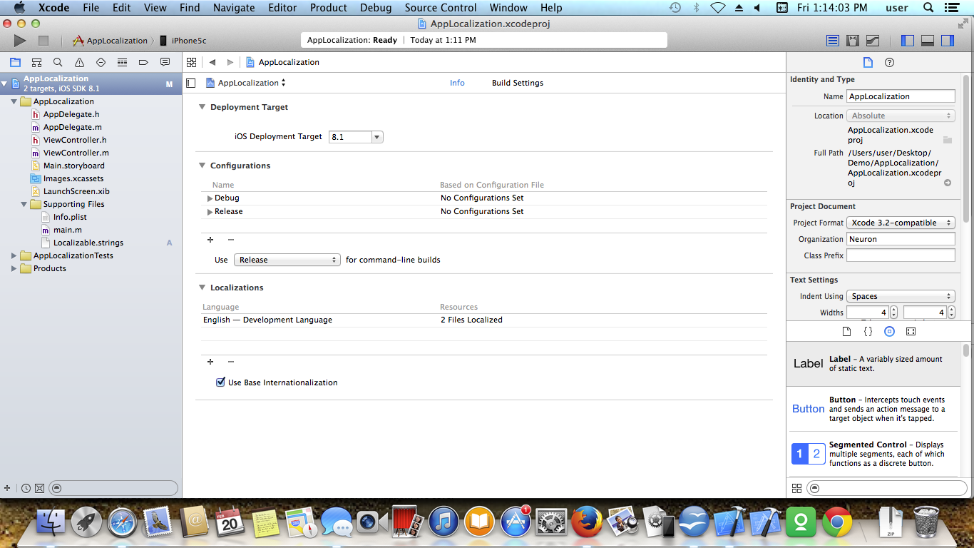 IOS APP LOCALIZATION Screen 3