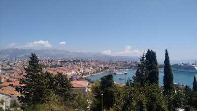 vista panoramica split croacia