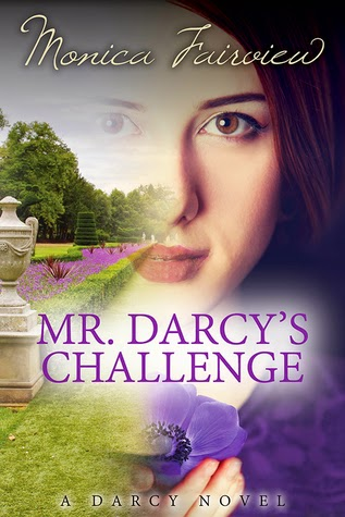 Book Cover - Mr Darcy's Challenge by Monica Fairview