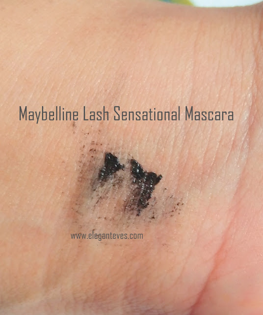 Maybelline Lash Sensational Mascara Waterproof Black Review