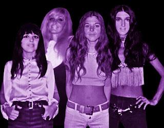 The Quatro Sisters (l-r) Suzi, Arlene, Nancy, and Patti