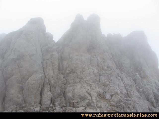 Ruta Pan de Carmen, Torre de Enmedio: último tramo a la torre de enmedio