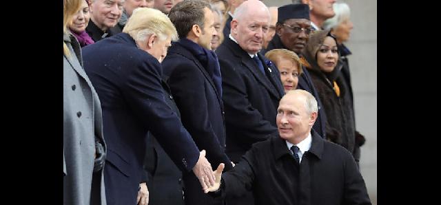 Путина подняли на смех в соцсети, из-за конфуза с Трампом