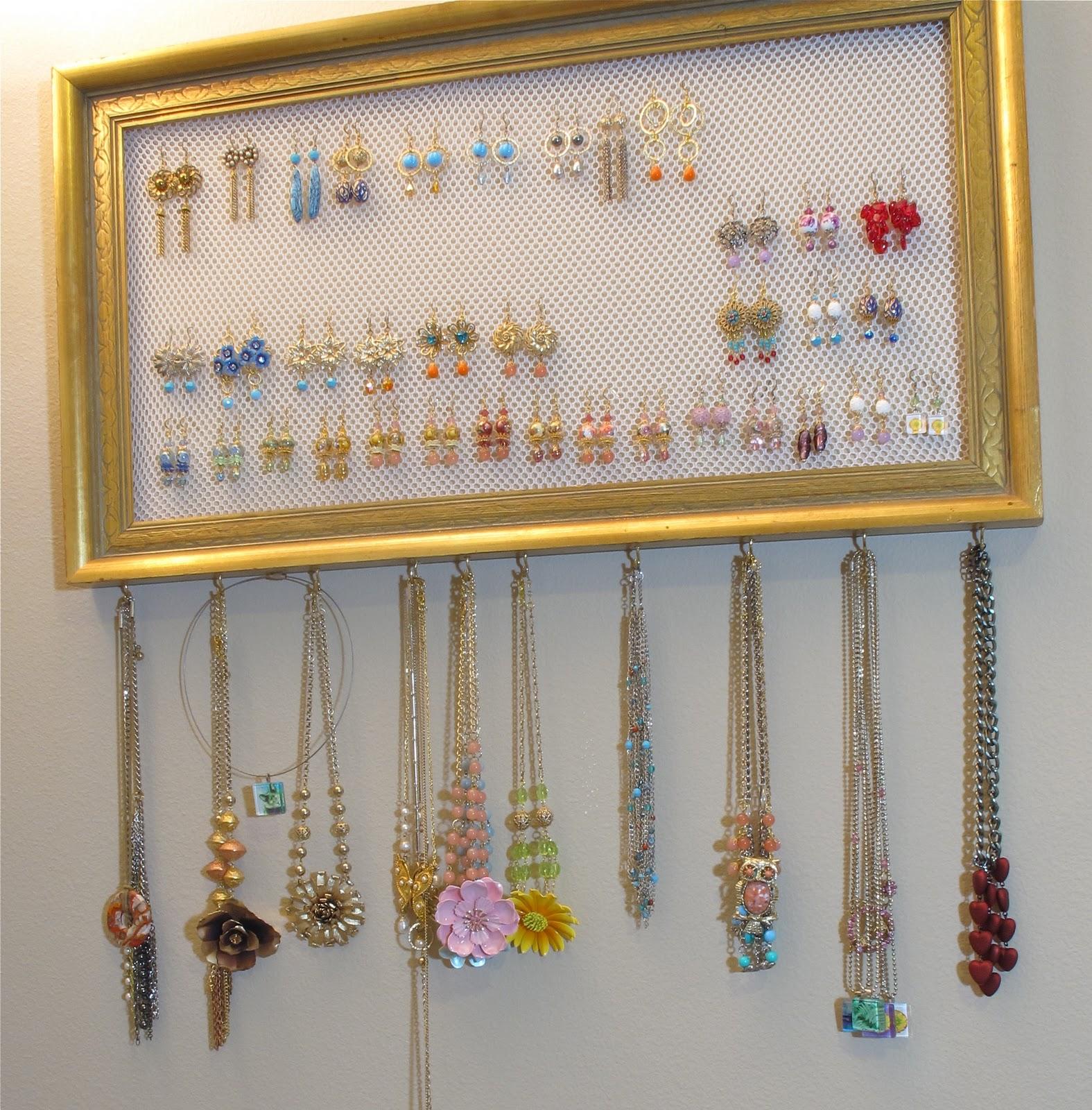BluKatKraft: Simple DIY Jewelry Organizer; Get Your ...