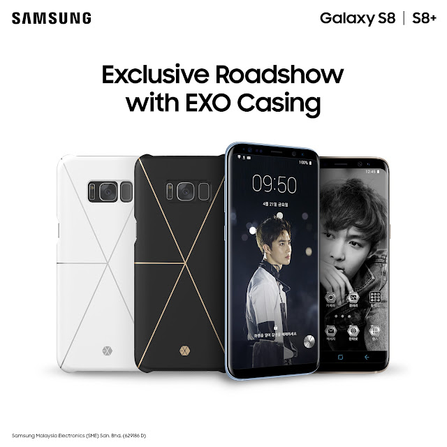 Samsung Galaxy Friends x EXO Phone Case