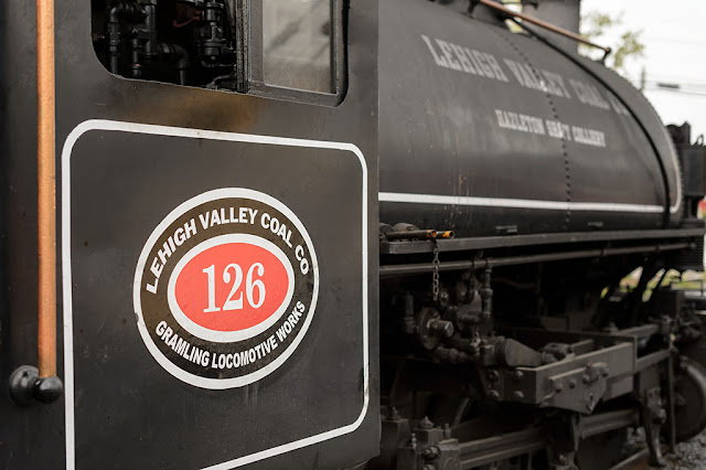 Lehigh Valley Coal Company #126 Steam Locomotive