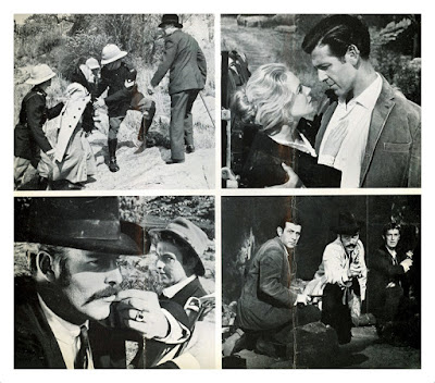 Promotional stills from Percival Rubens' THE FOSTER GANG (1964)