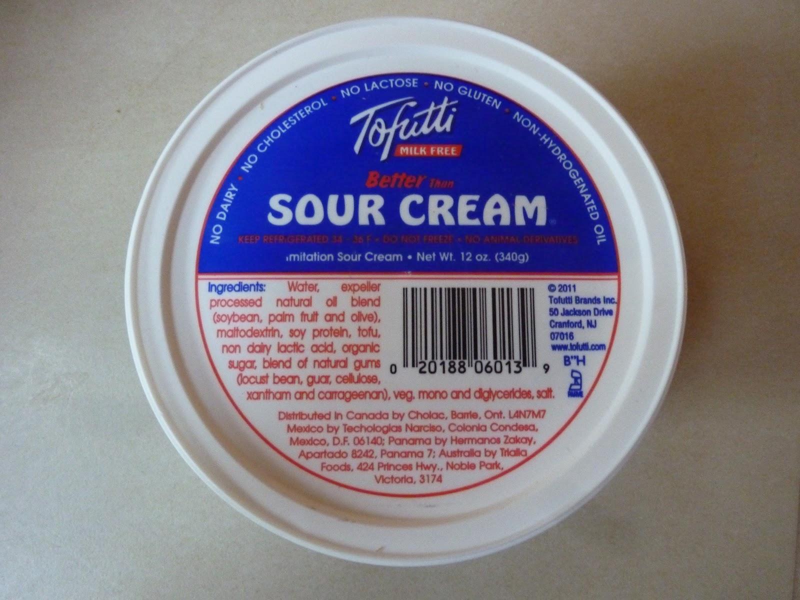 Tofutti Sour Cream Whole Foods